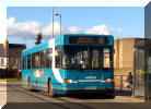 Arriva Scania on route 16 at Bicester