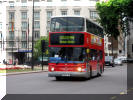 London United TLA26 in red and grey on 94 Marble Arch 170811 G Francis