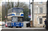 in the landscape Delaine 72 arrives Market Deeping Good Friday 2013 Credit John Marsh